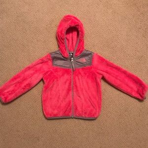 North Face hooded oso jacket